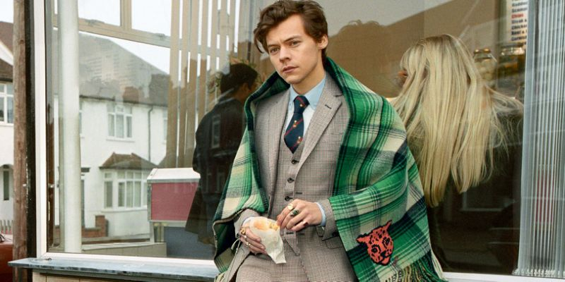 Harry Styles Stars in Gucci Men's Tailoring Campaign