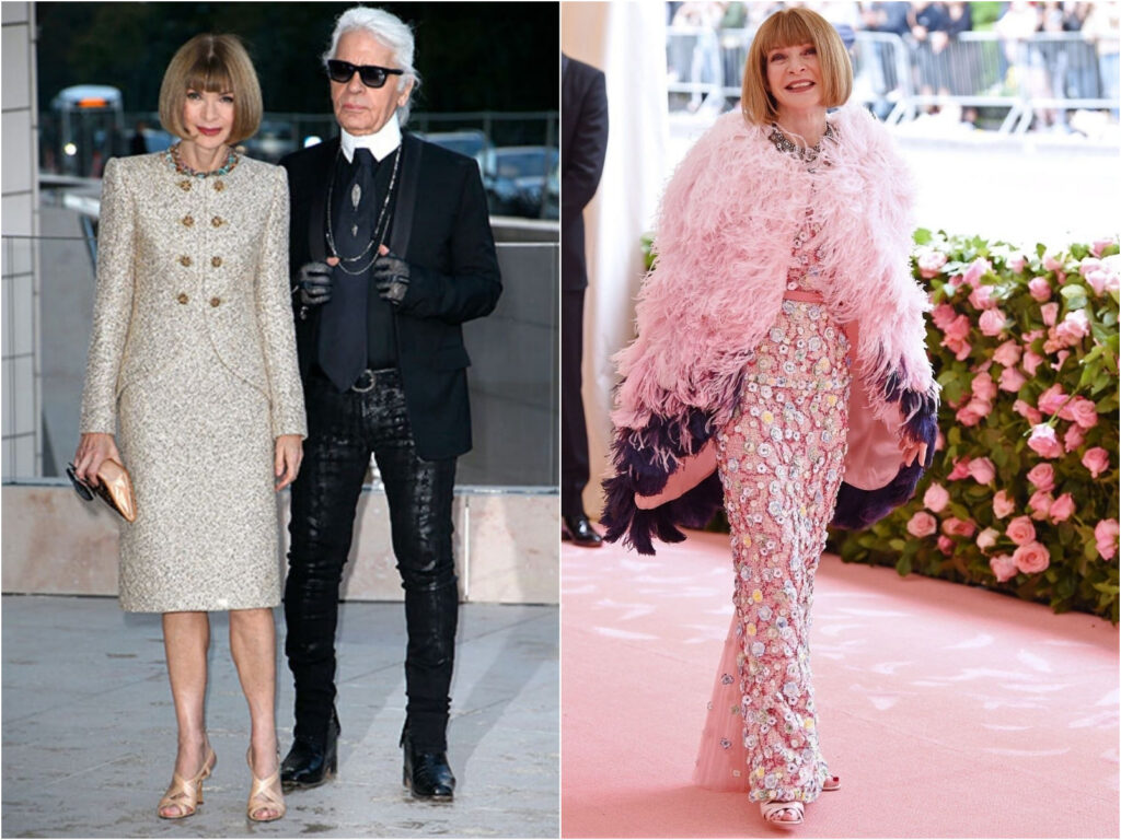 Anna Wintour in Chanel