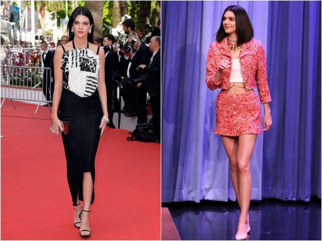 Kendall Jenner in Chanel