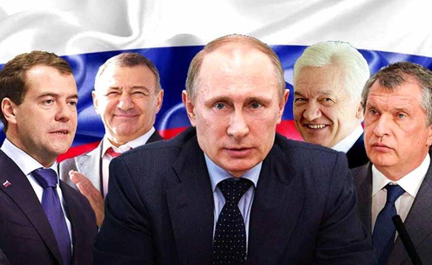 Российские олигархи или Владимир Путин. У кого доход больше