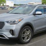 втомобиль Hyundai Santa Fe 2018 года