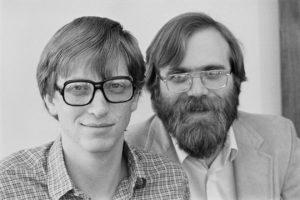 Билл Гейтс и Пол Аллен Майкрософт