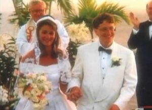 Билл и Мелинда Гейтс свадьба