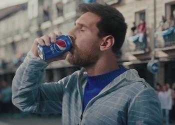 Лео Месси реклама пепси