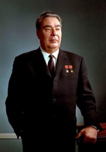 Фото Брежнева