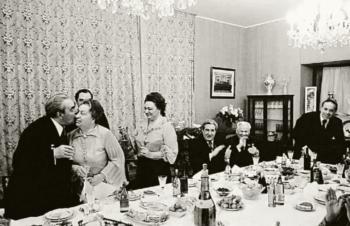 В квартире Л.И.Брежнева