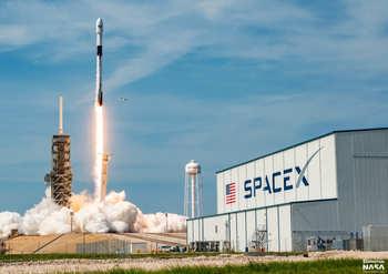 SpaceX, запуск ракеты