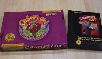 настольная игра брендами Rich Dad и Cashflow