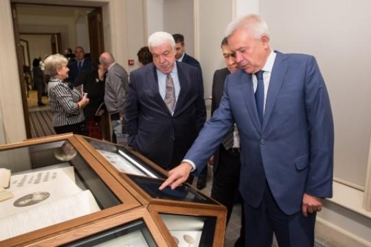 Алекперов основал Музей нумизматического клуба
