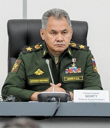 Главнокомандующий Сергей Шойгу
