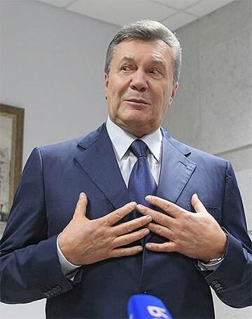 Бывший президент Украины