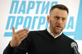 Блоггер и политик Алексей Навальный