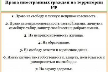 Федеральный закон о правах иностранных граждан на территории РФ в 2021 году